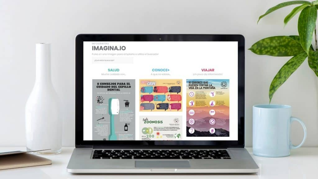 IMAGINA.io Infografías y visuales para comunicar y divulgar de forma alternativa